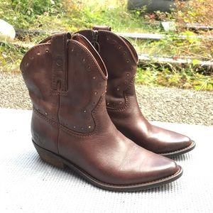 Lucky brand cowboy boots